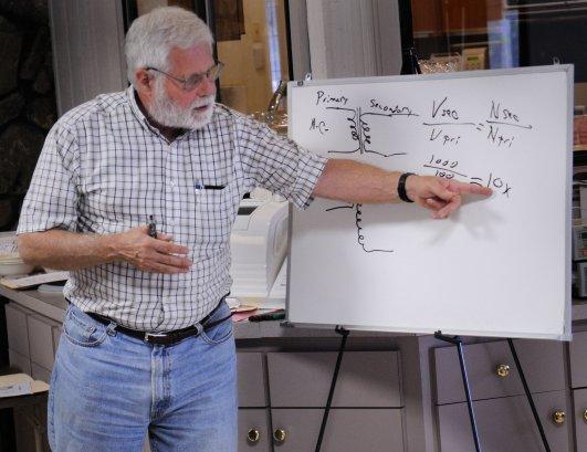 Electronics lab class