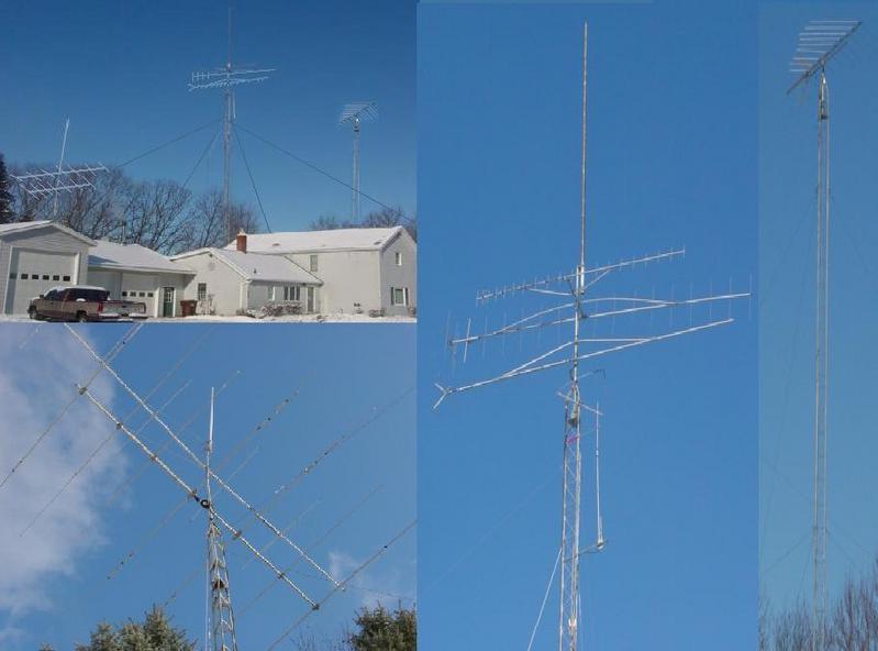 W8LSS - HF   VHF   UHF   TOWERS AND ANTENNAE