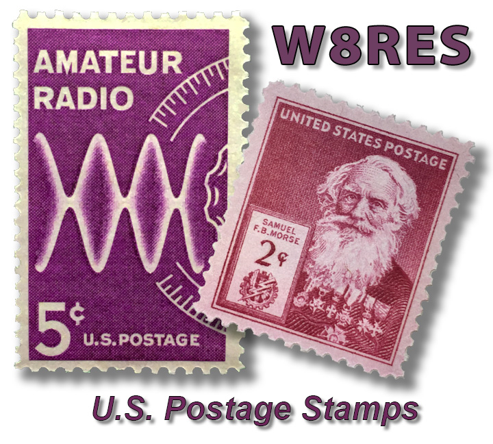 Amateur call sign stamp