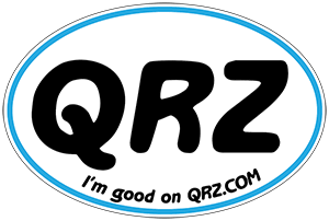 Get your FREE QRZ Sticker