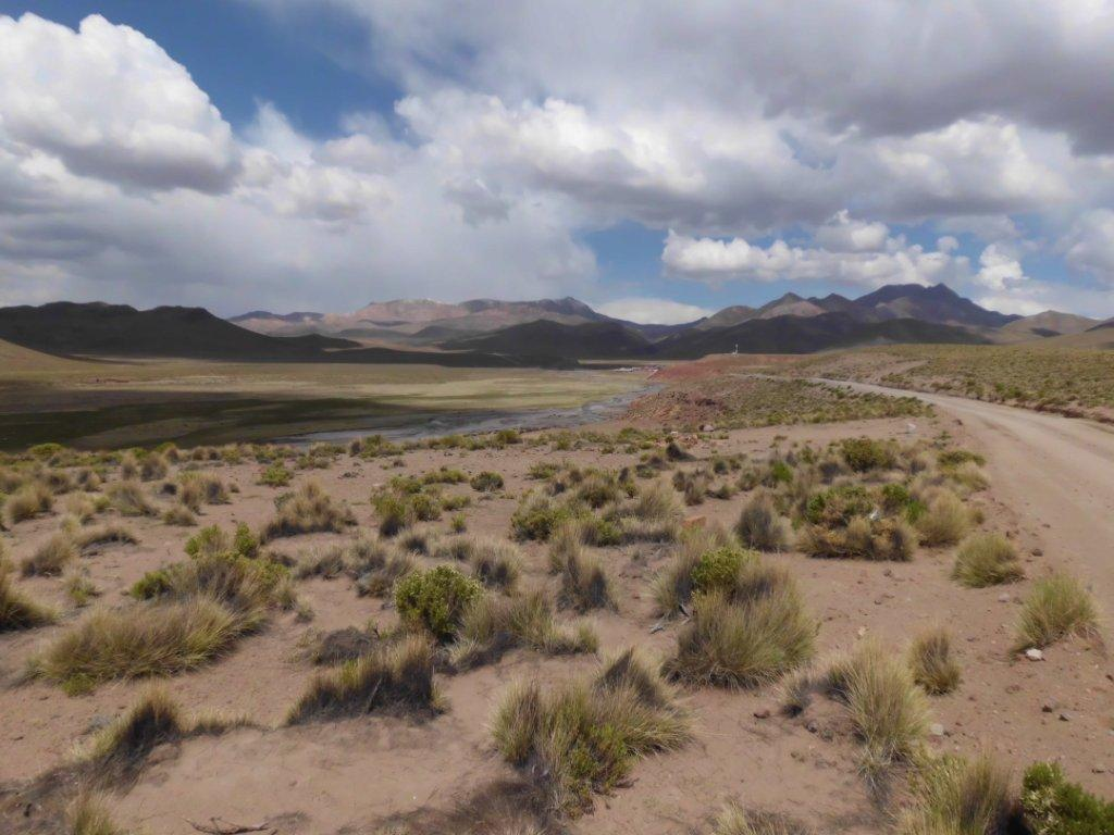 Panorama of the Andes