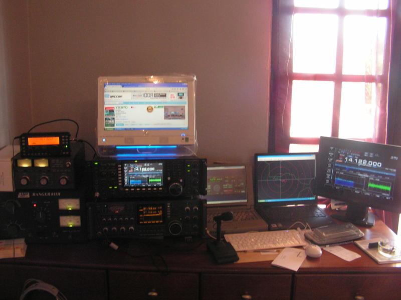 Station Icom 781,7700 et Ranger 811H équipé 572B