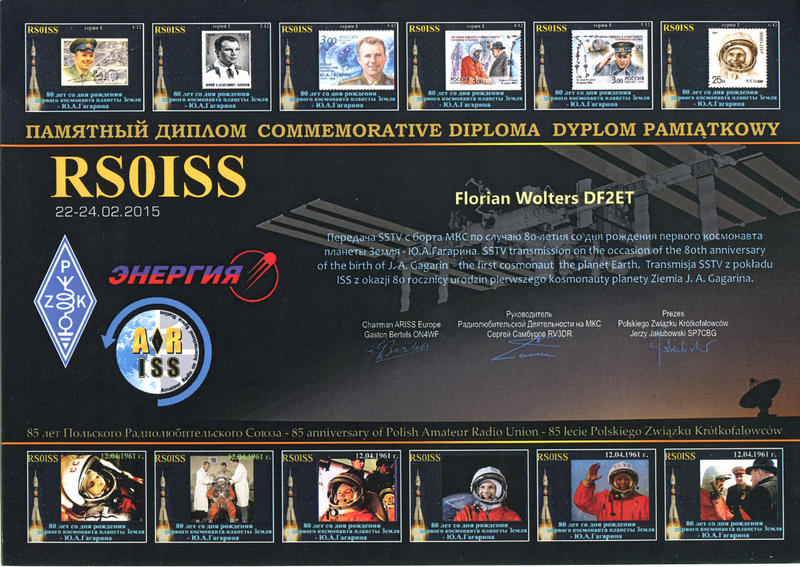 ISS SSTV diploma