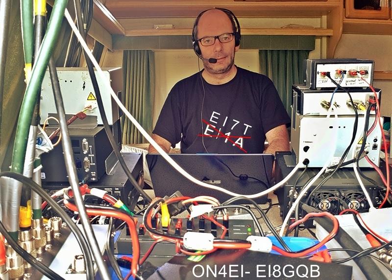 ON4EI Operating as EI7T