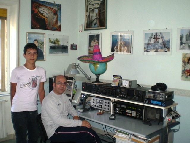 I8PXT Pietro with my son Silvio