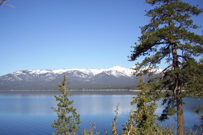 Beautiful Lake Tahoe, the Jewel of the Sierra!