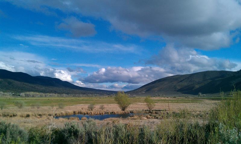 Washoe Valley, north of Carson City
