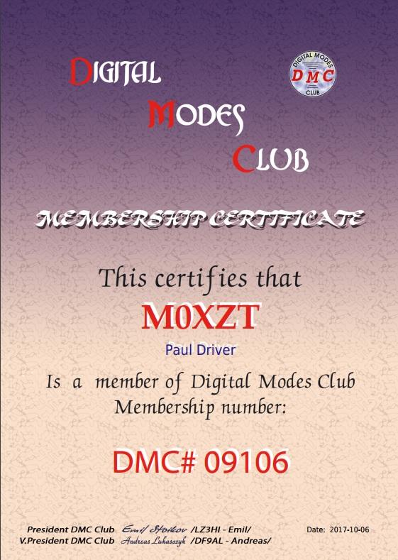 Digital Modes Club