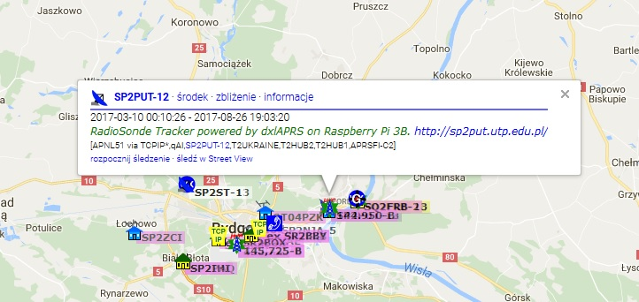 SP2PUT-12 RadioSonde Tracker