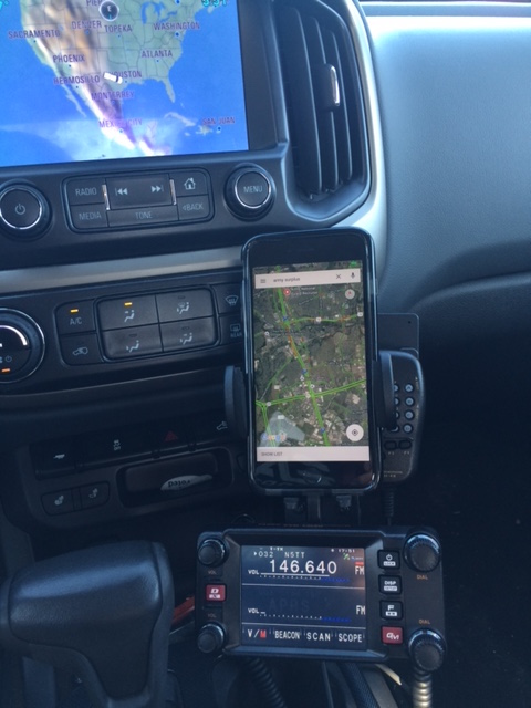 Using Yaesu FTM-400's for local mobile work
