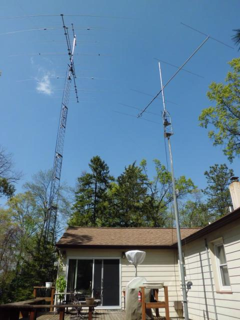My current antenna array