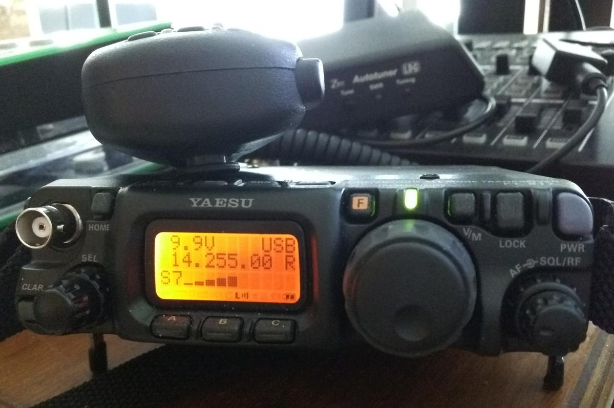 FT-817ND and LDG Z817