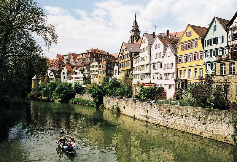 tuebingen on the neckar river