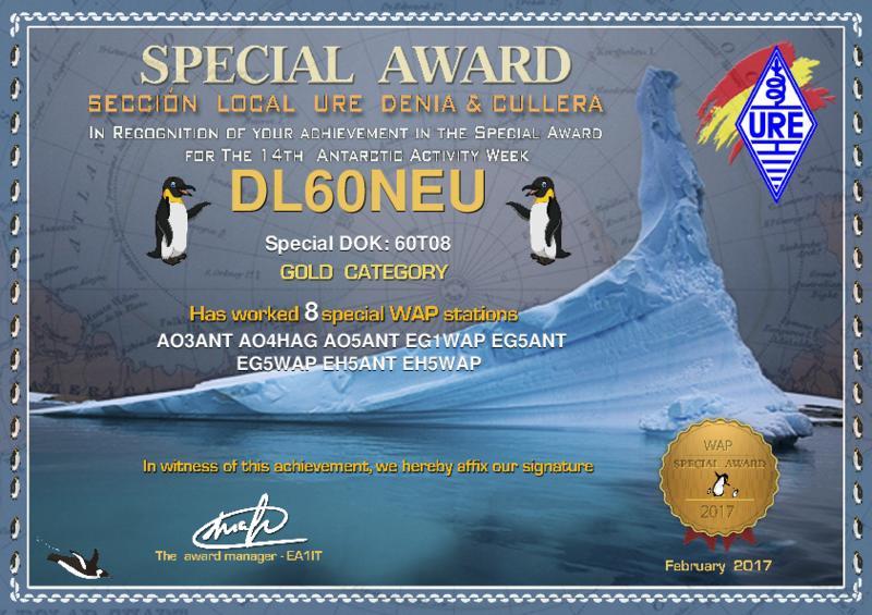 Antarctic Activity Week Gold