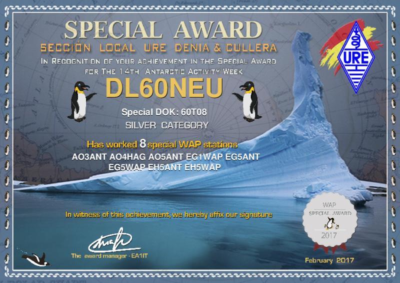 Antarctic Activity Week Silver