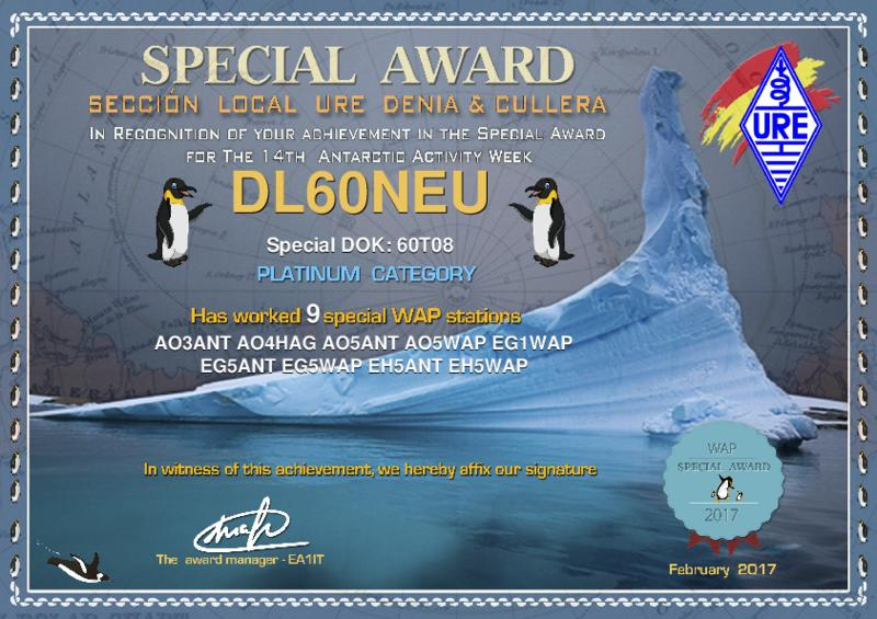 Antarctic Activity Week Platinum