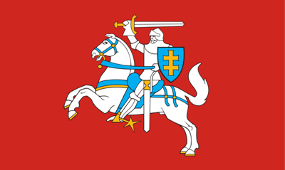 LY2BMX, Historical flag of Lithuania
