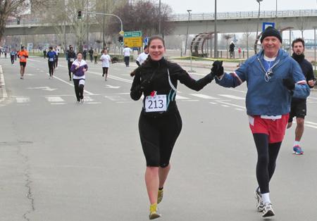 Half marathon, Novi Sad, 24.03.2013.