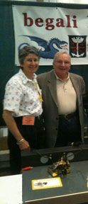 AG6V with I2RTF, Mr. Begali, at ARRL National Convention 2011 Plano, TX