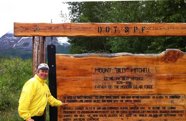 AG6V at Mt. Billy Mitchell in Alaska 2011