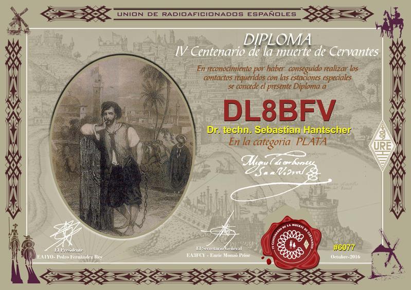 Cervantes Diploma