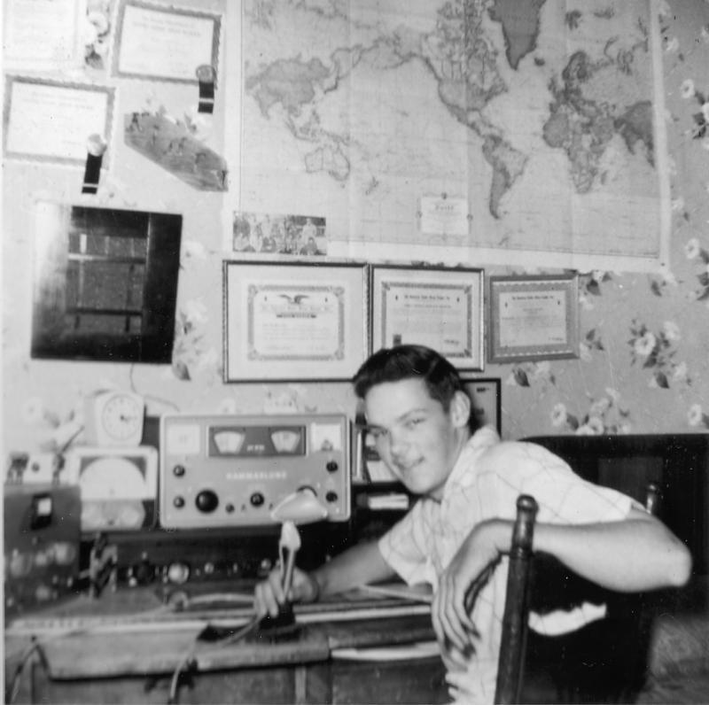 1959 K1HTV shack