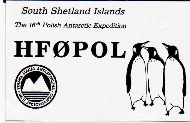 HF0POL (QSL front)