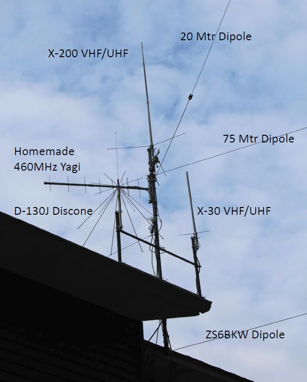 Primary Antenna Mast