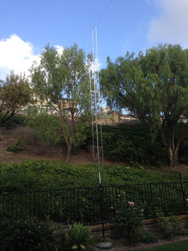Multi-vertical Antenna 40-30-20-17-15