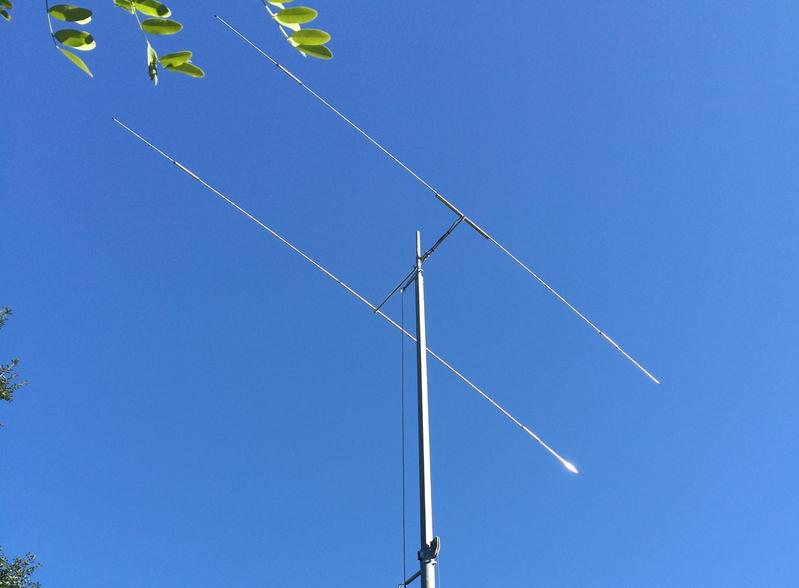 TA-32 Junior antenna at 40' on a US Tower MA-40 mast