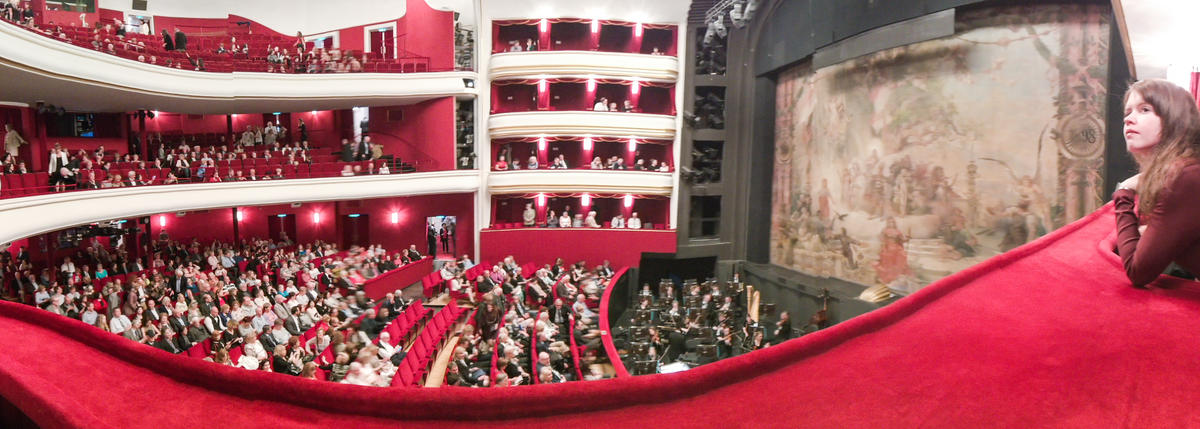 QRV in Austira at the Volksoper
