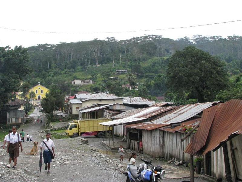 Ermera village, 2000 m ASL, Timor Leste inland