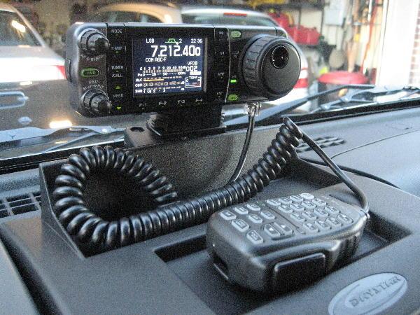 Icom IC-7000 Mobile Radio