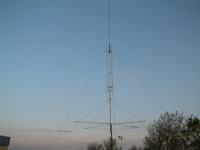 Gap amateur antenna