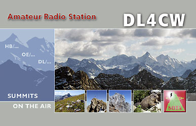 QSL for SOTA activities