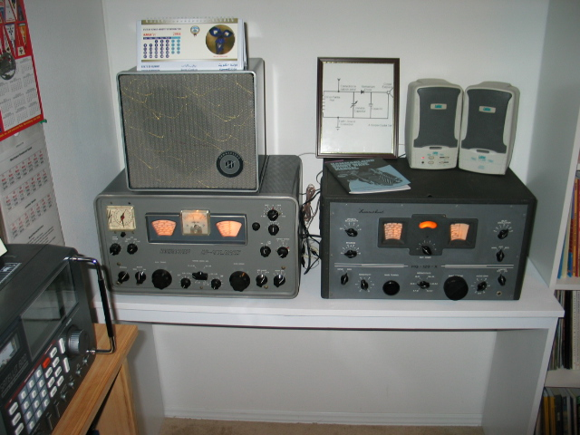A couple of great Boat Anchor Radios.
