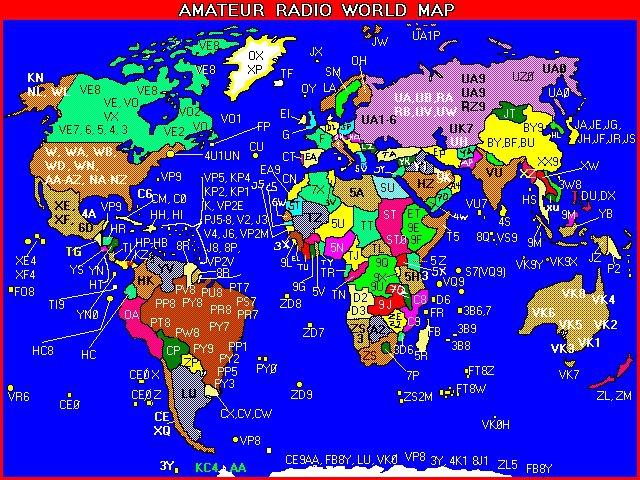 KUGW Callsign Lookup By QRZCOM - Us maidenhead grid square map