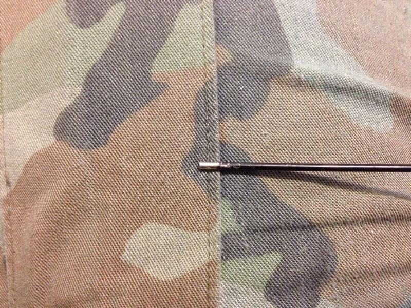 Antenna tip after filing