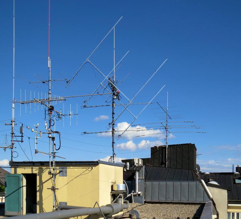 actual antennas