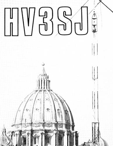 HV3SJ special guest QSL