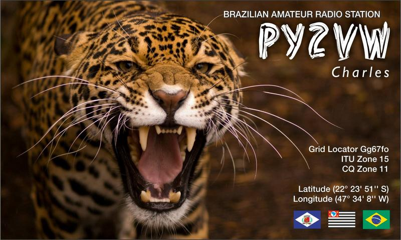 My new QSL card
