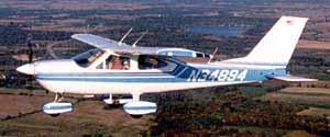 N34894 in flight