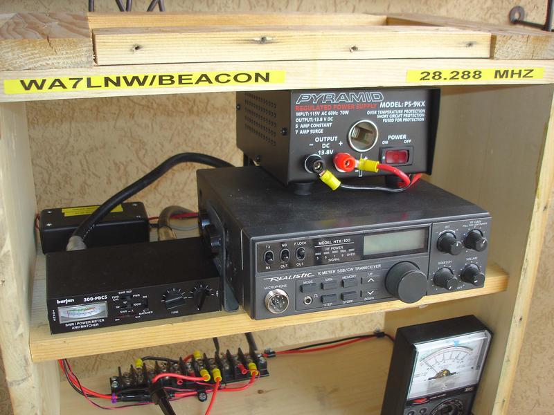 Beacon transmitter penetrate