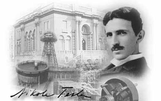Dr Nikola Tesla serbian american inventor of radio and modern alternating power systems