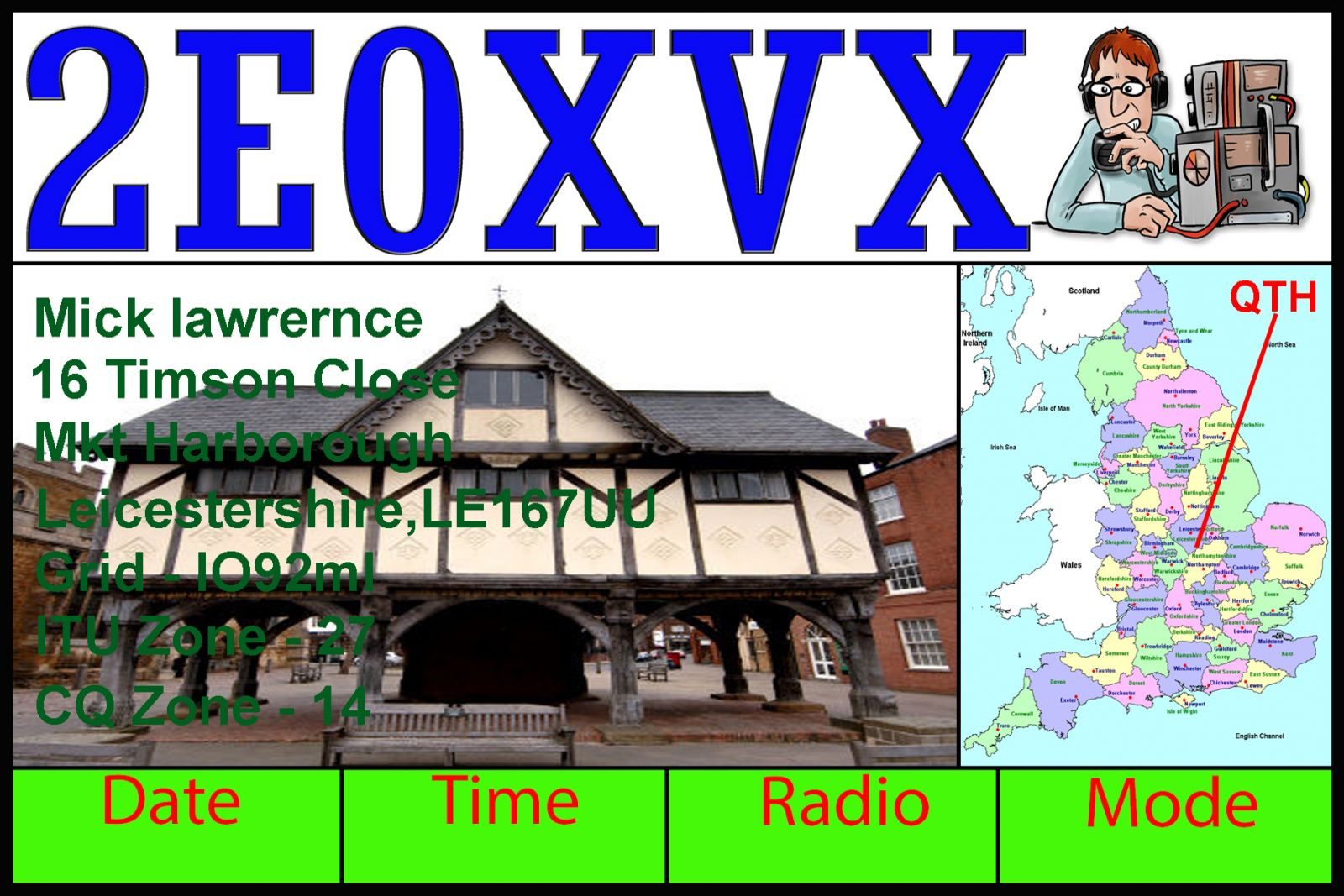 2E0XVX - Callsign Lookup by QRZ Ham Radio