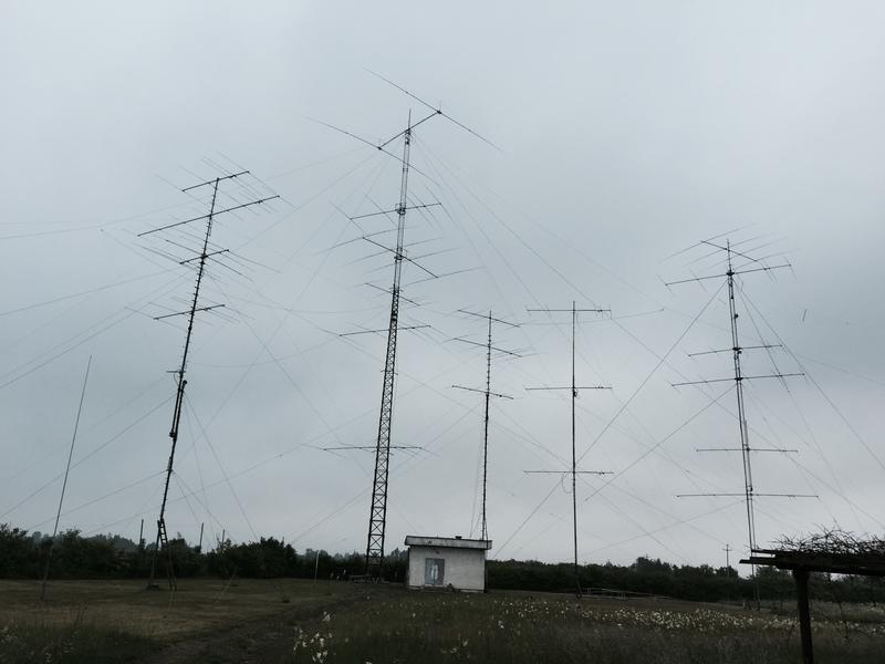 E7DX antenna farm in Bosnia Herzegovina