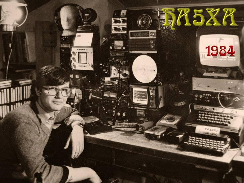 HA5XA in 1984