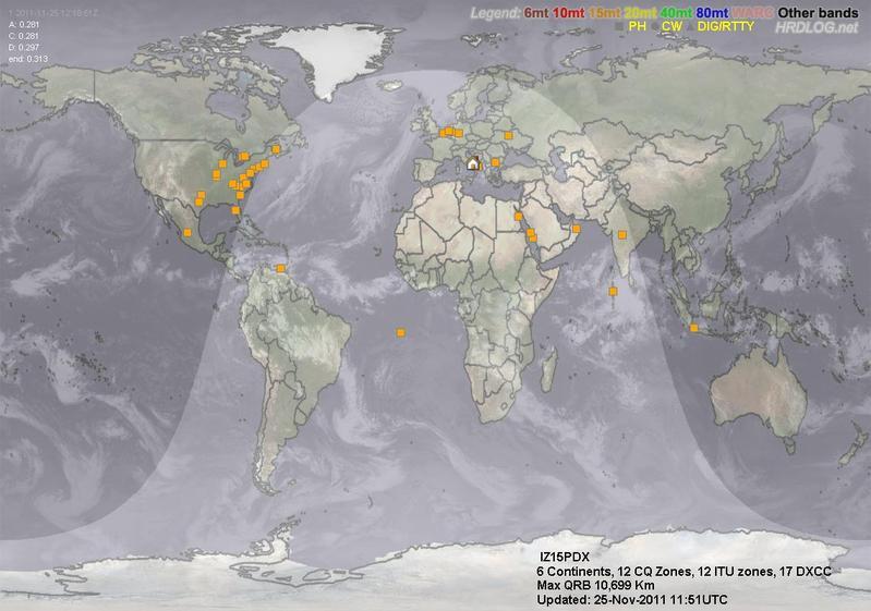 LOG MAP 15mt