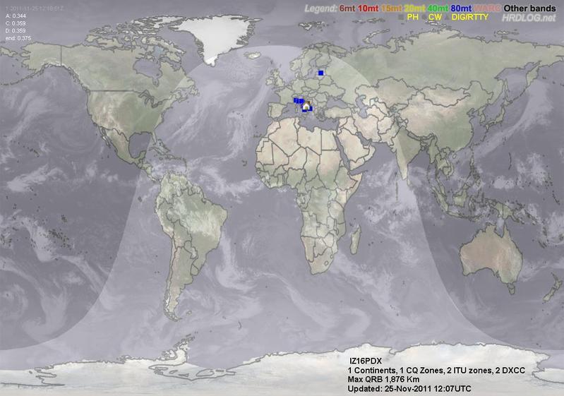 LOG MAP 160mt