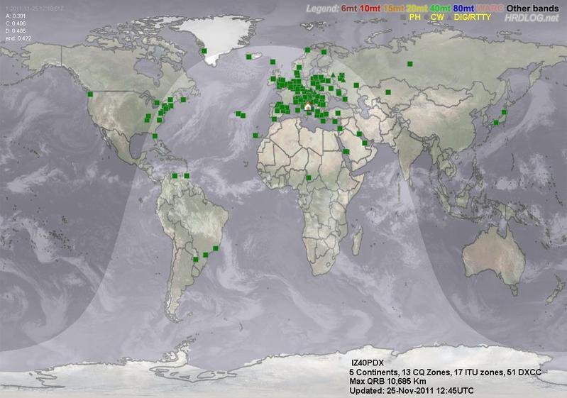 LOG MAP 40mt